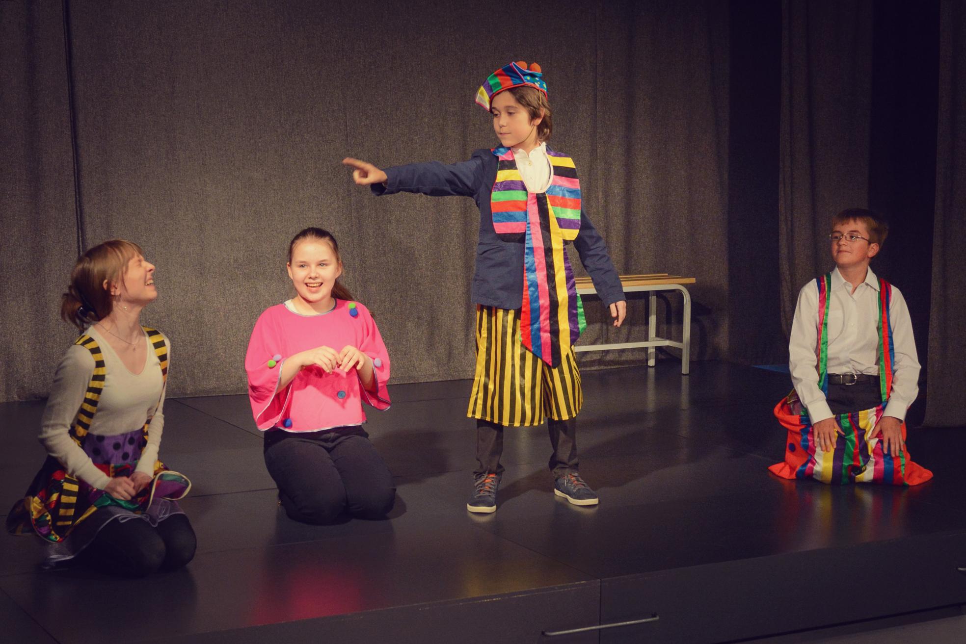 Театральная студия на английском языке